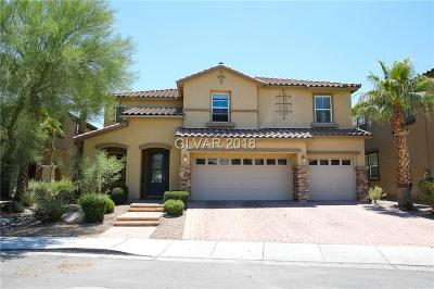 North Las Vegas Single Family Home For Sale: 3117 Palladio Avenue