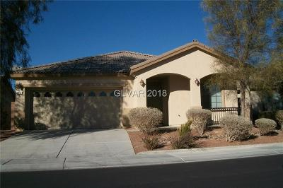 North Las Vegas Single Family Home For Sale: 3812 Kilgores Rocks Avenue