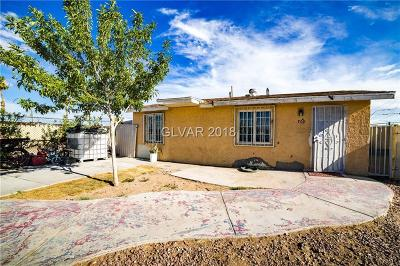 Las Vegas Single Family Home For Sale: 709 Adams Avenue