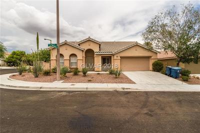 Las Vegas Single Family Home For Sale: 10732 Esk Drive