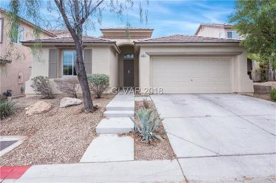 Las Vegas NV Single Family Home Under Contract - No Show: $310,000
