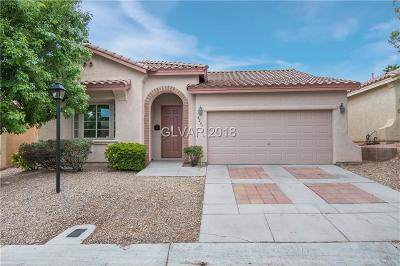 Las Vegas NV Single Family Home Under Contract - No Show: $336,000