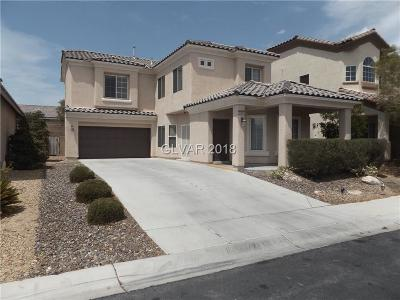 Las Vegas Single Family Home For Sale: 5486 Vicarage Way