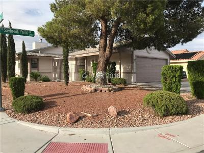 Las Vegas Single Family Home For Sale: 7444 Saybrook Point Drive