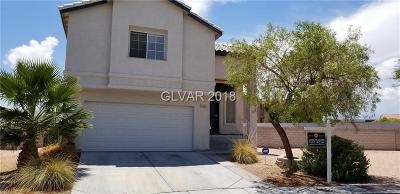 North Las Vegas Single Family Home For Sale: 4529 Ranch Foreman Road