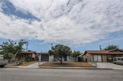 North Las Vegas Single Family Home For Sale: 3217 Judson Avenue