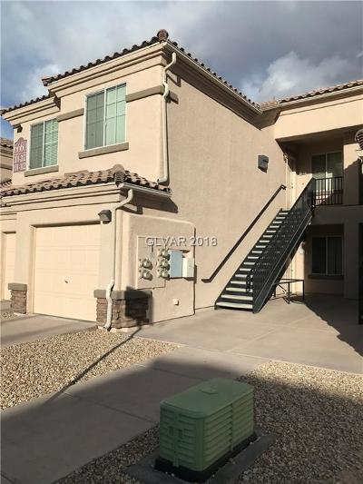 North Las Vegas Condo/Townhouse For Sale: 6660 Flaminian Lane #102