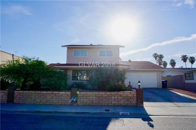 Las Vegas NV Single Family Home For Sale: $314,999