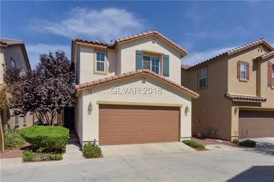 Las Vegas Single Family Home For Sale: 1112 Via Pastini