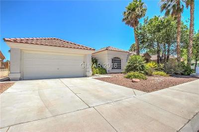 North Las Vegas Single Family Home Under Contract - No Show: 4532 Crimson Leaf Drive