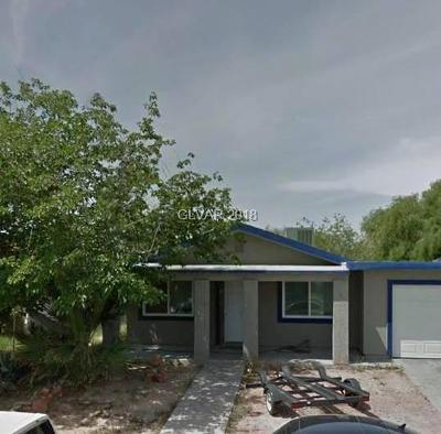 North Las Vegas Single Family Home For Sale: 4101 Paramount Street