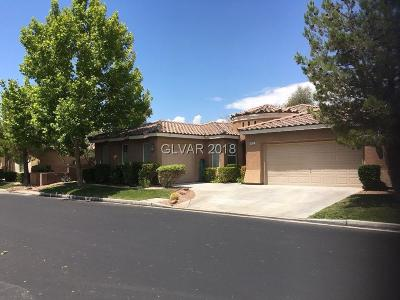 Las Vegas Single Family Home For Sale: 10779 East Bramante Drive