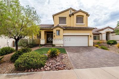 Henderson Single Family Home For Sale: 284 Garnet Garden Street