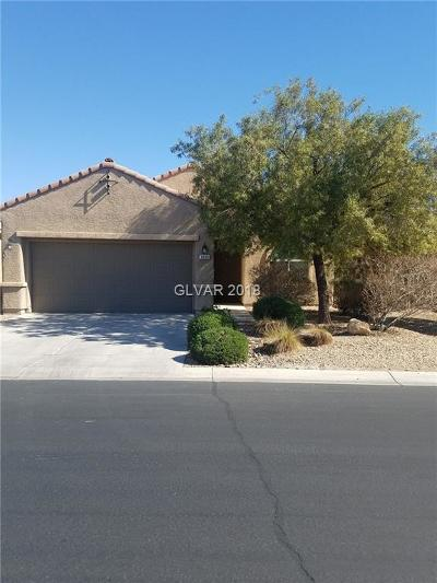 Las Vegas Single Family Home For Sale: 3938 Tanning Street