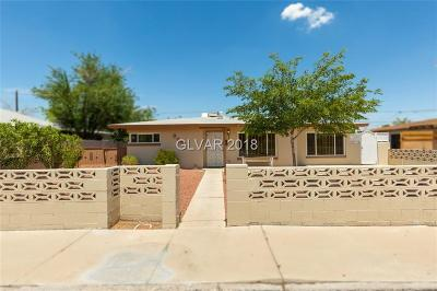 Las Vegas Single Family Home For Sale: 905 Bonita Avenue