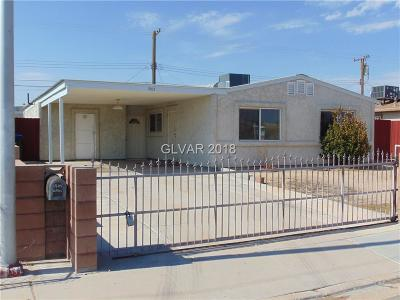 North Las Vegas Single Family Home For Sale: 1905 Cartier Avenue