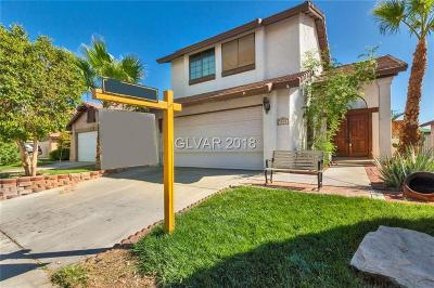 Las Vegas Single Family Home For Sale: 2509 Cycad Tree Street