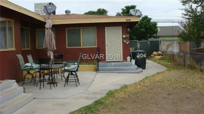 Las Vegas Multi Family Home For Sale: 206 George Place
