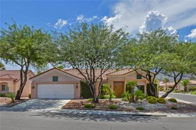 Las Vegas Single Family Home For Sale: 3033 Anna Bay Drive