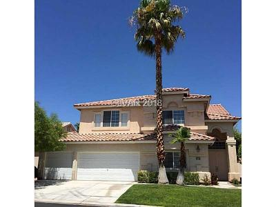 Las Vegas Single Family Home For Sale: 9728 Camino Capistrano Lane
