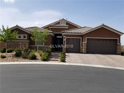 Las Vegas Single Family Home For Sale: 334 Cougar Estates Lane
