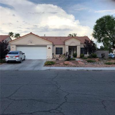 North Las Vegas Single Family Home For Sale: 4822 Wind Break Drive