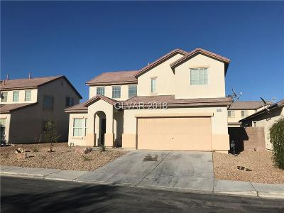 North Las Vegas Single Family Home For Sale: 5312 Sweet William Street
