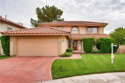 Las Vegas Single Family Home For Sale: 2932 Crystal Bay Drive