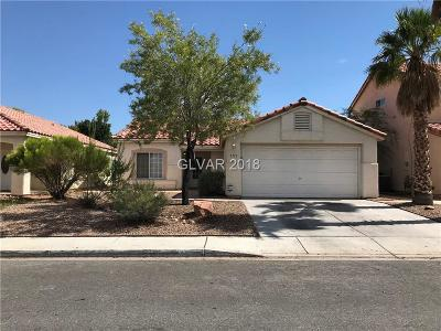 North Las Vegas Single Family Home For Sale: 1711 Ashburn Drive