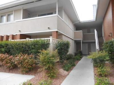 Las Vegas NV Condo/Townhouse For Sale: $125,000