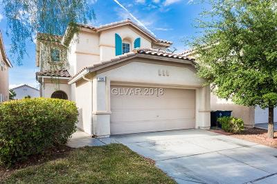 Las Vegas NV Single Family Home For Sale: $249,900