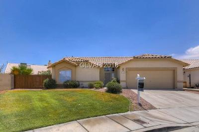 North Las Vegas Single Family Home For Sale: 3041 Milton Place