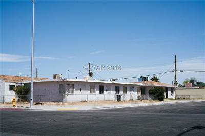 Las Vegas Multi Family Home For Sale: 1001 G Street