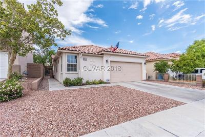 Las Vegas Single Family Home For Sale: 10134 Black Duck Court