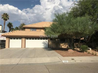 Las Vegas Single Family Home For Sale: 3368 Montessouri Street