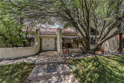 Las Vegas Single Family Home For Sale: 20 Princeville Lane