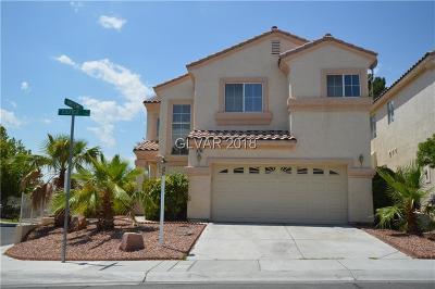 Las Vegas Single Family Home For Sale: 9701 Edifice Avenue #_