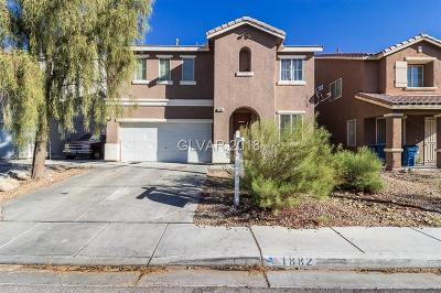 North Las Vegas Single Family Home For Sale: 1882 Verde Mirada Drive