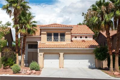 Las Vegas Single Family Home For Sale: 809 Lexington Cross Drive