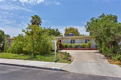 North Las Vegas Single Family Home For Sale: 2621 Perliter Avenue