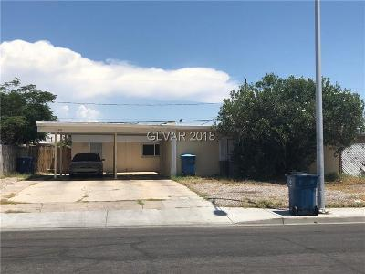 Las Vegas Multi Family Home For Sale: 1223 San Pedro Street