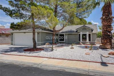 Las Vegas Single Family Home For Sale: 4708 Stormy Hills Drive