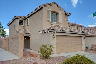 LAS VEGAS Single Family Home For Sale: 3444 Durant River Drive