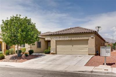 North Las Vegas Single Family Home For Sale: 1008 Rome Boulevard