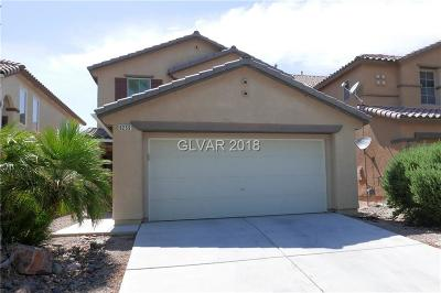 North Las Vegas Single Family Home For Sale: 6253 Halstead Court