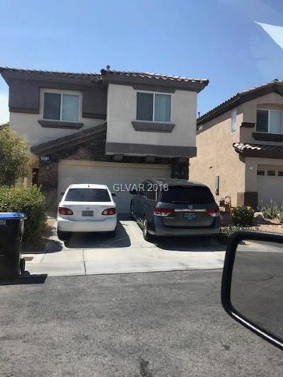 Las Vegas Single Family Home Under Contract - No Show: 257 Tie Breaker Court