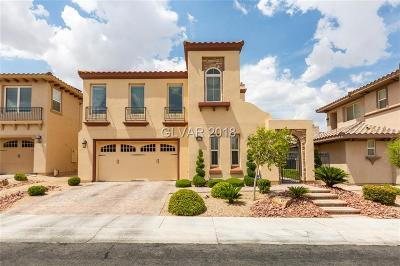 Las Vegas Single Family Home For Sale: 164 Crooked Putter Drive