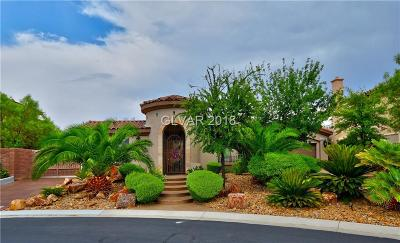 Las Vegas Single Family Home For Sale: 9580 Bel Sole Court