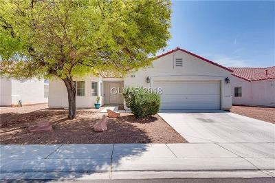 NORTH LAS VEGAS Single Family Home Under Contract - No Show: 4640 Painted Hills Street