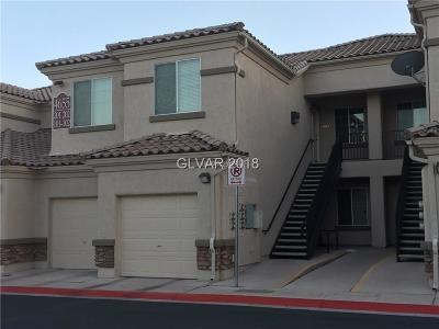 North Las Vegas Condo/Townhouse For Sale: 4655 Centisimo Drive #102